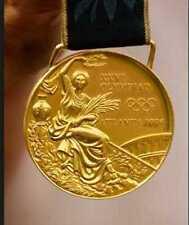 1996 Atlanta Olympic Gold Medal with Silk Ribbon cheapest on ebay !!
