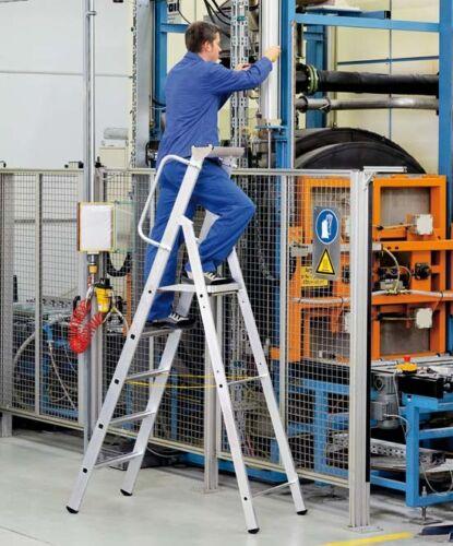 Zarges LM-Stehleiter m Plattform 3 Stufen Z600