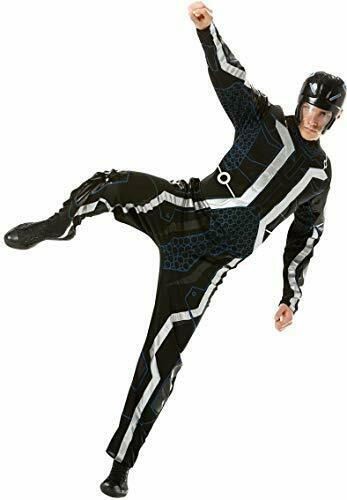 Official Tron with Muscle Chest, Adult Costume - Standard Size