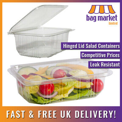 20 x Premium Quality Food Catering Plastic MICROWAVE CONTAINER /& LID 750CC
