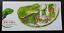 thumbnail 1 - [SJ] Vanuatu Fiji Banded Iguana 2007 Reptiles (FDC) *signed *odd shape *rare