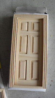 Betrouwbare Dollhouse Wood 6 Panel Door Mip