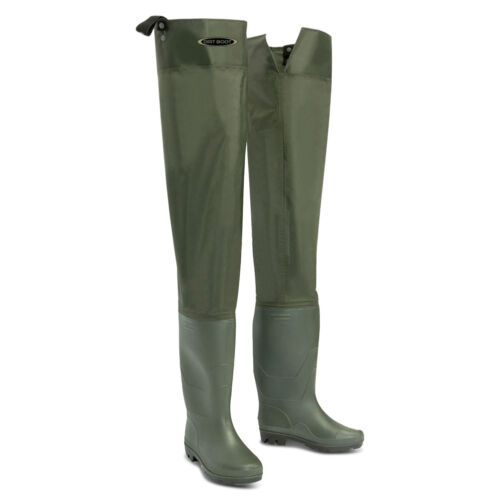 Dirt Boot ® Nylon Thigh HIP WADERS 100/% Imperméable Fly grossier pêche Muck Wader