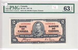1937-Bank-of-Canada-2-00-Bank-Note-BC-22c-PMG-UNC63-EPQ-L-R-1701481