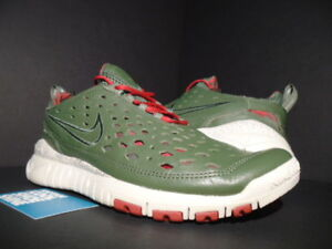 Details about 06 NIKE FREE TRAIL 5.0 STUSSY WORLD TOUR NEW YORK OLIVE GREEN RED 315594 331 10