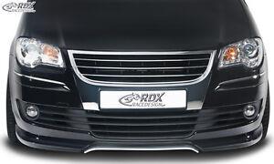 RDX-Frontspoiler-VW-Touran-1T-Facelift-06-10-Front-Spoiler-Lippe-Vorne-Ansatz