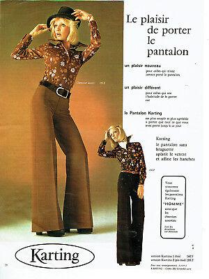 pantalon femme karting