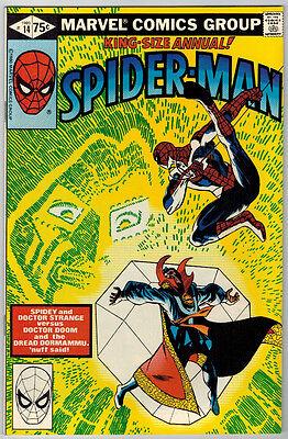 Amazing Spider-Man Annual 14 NM- Dr. Strange Dr. Doom Frank Miller art