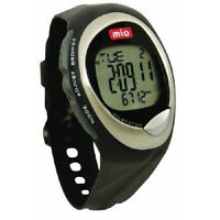 Mio Go Pedometer Watch With Steps +distance +calories 7-day Memory - Black