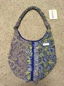 3fa5391488 NWT APRIL CORNELL Isabella s Journey Tapestry handbag tote purse ...