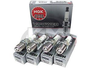 SET-OF-4-NGK-4644-BKR7E-V-POWER-PREMIUM-SPARK-PLUGS