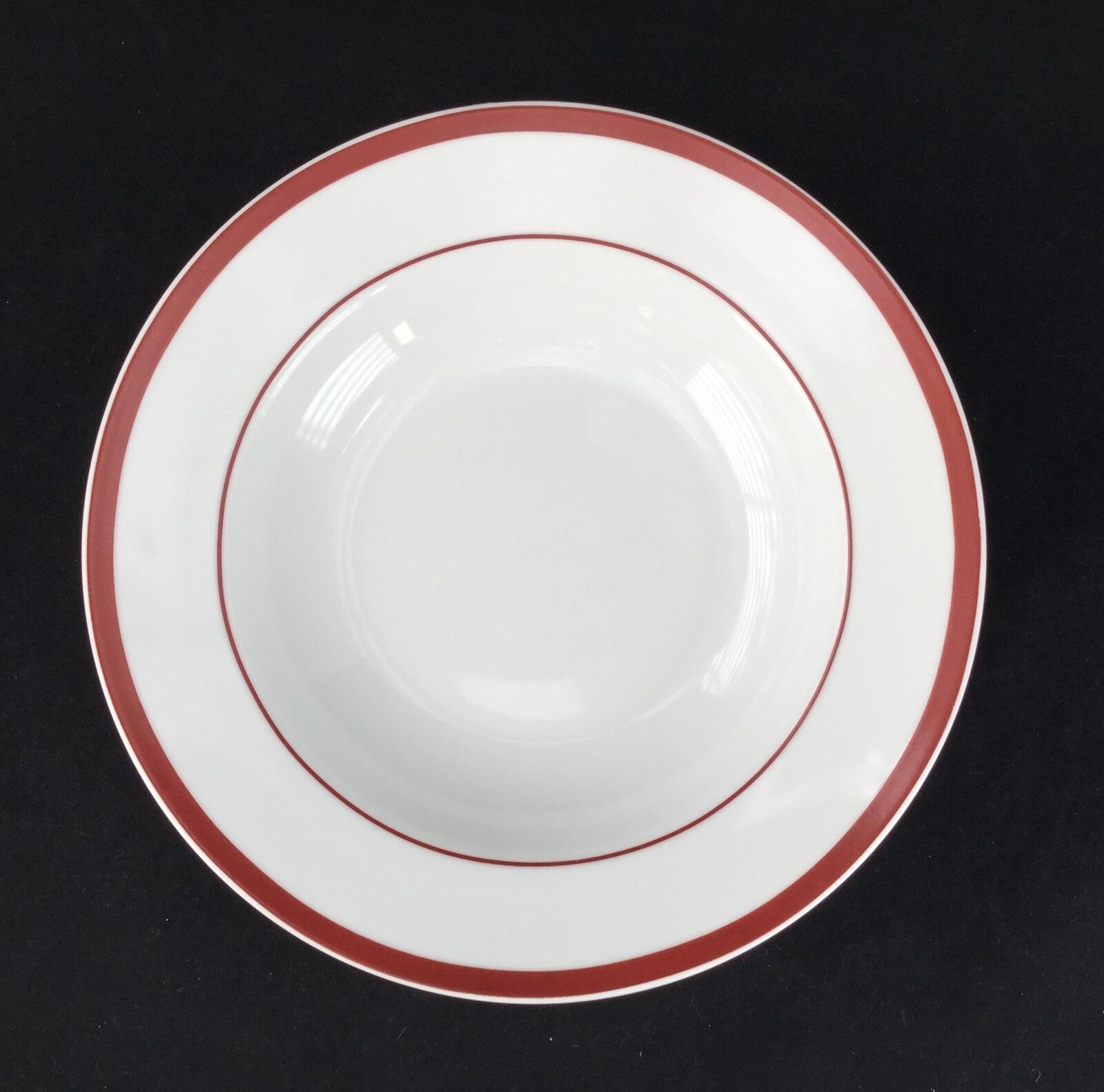 Set of 6 Linens N Things Boulevard Cafe Rimmed Soup Cereal Bowls - FREE SHIPPING