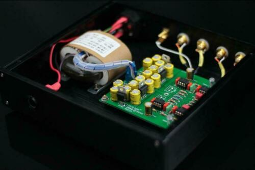Finished MMCF10 Hifi LP Phonograph MM Amplifier RIAA Phono Preamplifier