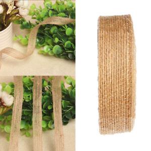 Hessian-Burlap-Ribbon-Lace-Trims-Edge-Natural-Jute-Tape-Wedding-Party-Supply