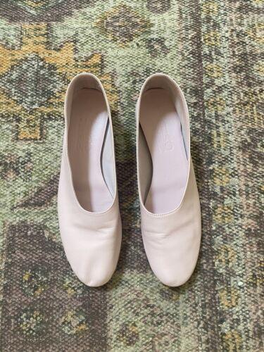 Martiniano Glove Flat, Light Pink, Size 7.5, Great