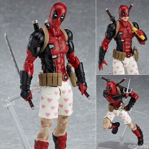 Figma EX-042 Deadpool DX Ver 16cm PVC Action Figure New In Box
