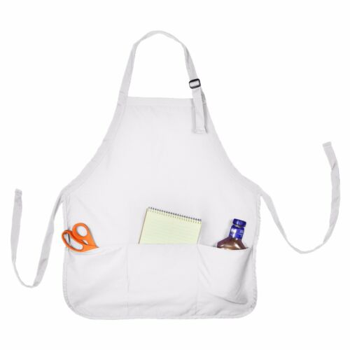 12 Aprons Commercial Restaurant Bib Waitress 100/% Cotton Bulk Wholesale 1 Dozen