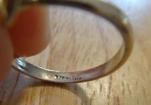 size 9 Sterling Silver 2.5mm wide Plain Band Charm Ring to Add a Charm