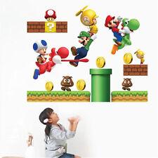 Removable Super Mario Bros Child Baby Bedroom Livingroom Home Decor Wall Sticker