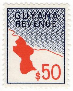 I-B-British-Guiana-Guyana-Revenue-Duty-Stamp-50