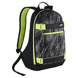 Image is loading Nike-SB-Embarca-Medium-Backpack-BA4686-012-BLACK- bda05db4e64c4