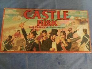 Parker-Brothers-1986-Castle-Risk-Board-Game-Complete-nice