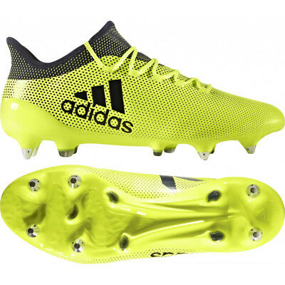 Solar Yellow Ace 16.3 Mens TF Leather Football Trainers