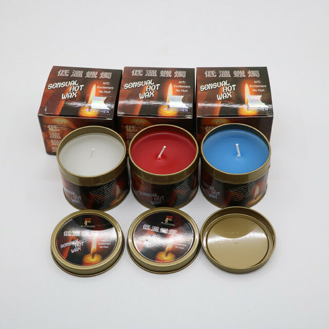 Low Temperature Candle Sensual Hot Wax  Drip Candle Adult Only