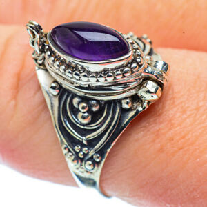 Amethyst-925-Sterling-Silver-Ring-Size-9-Ana-Co-Jewelry-R35734F