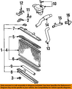 TOYOTA-OEM-92-96-Camry-3-0L-V6-Radiator-Core-1640346390