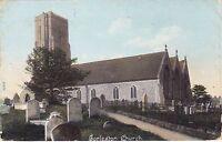 St Andrew's Church,Gorleston,Norfolk.1908 Colour Postcard