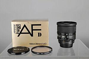 Nikon-Nikkor-AF-D-28mm-1-1-4-D-OVP