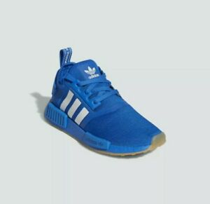 New-Adidas-Originals-NMD-R1-Boost-ROYAL-BLUE-Shoes-FW6455-Women-039-s-US-Size-7-5-6Y