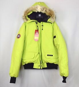 NWT-Canada-Goose-Mens-Chilliwack-Bomber-Jacket-Aurora-Green-Size-XL-Coat-Down
