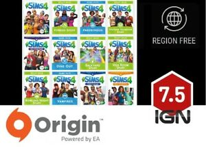 Details about The Sims 4 - Expansions / Additional DLC [PC & MAC] Origin  Download Key