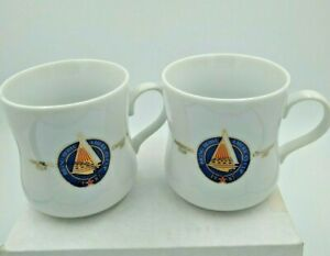America's Cup Challenge 1987 Coffee Mugs Taster's Choice