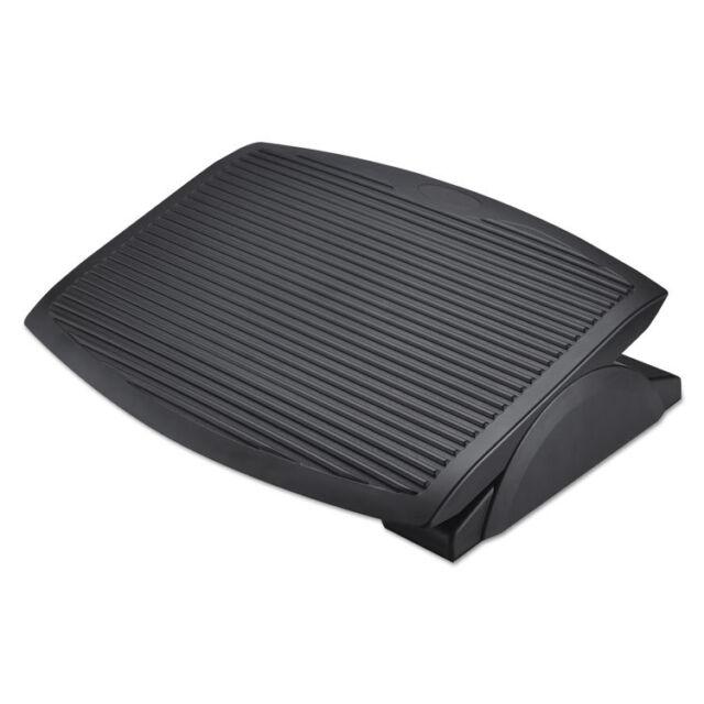 Alera Ergo Tilt Footrest, 13 3/4w x 17 3/4d x 3 3/8 to 5 1/8h, Black FS312