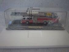CODE 3 KANSAS CITY FIRE DEPT. E-ONE PLATFORM LADDER TRUCK L-15, NIB 1/64TH SCALE