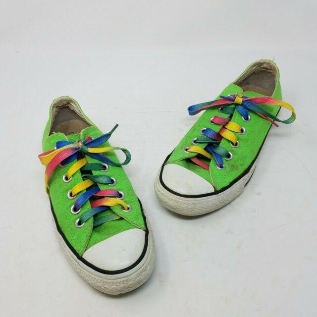Converse All Star Pride Neon Lime Green