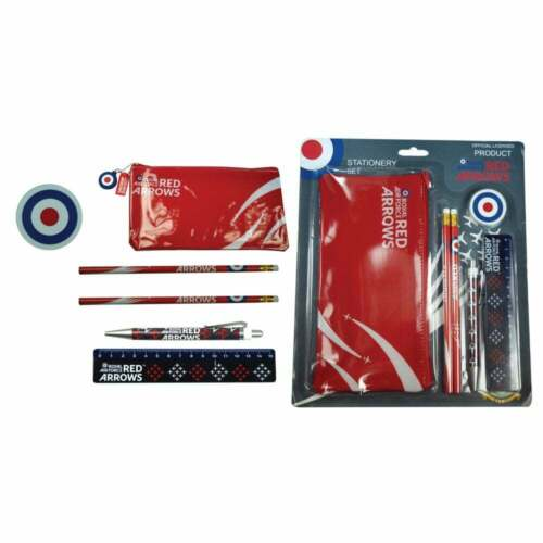 Portfolio Group Red Arrows 6 Piece Stationary Set