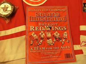 2008-Detroit-Red-Wings-Stanley-Cup-Champions-Hockey-Memrobillia