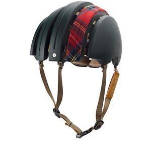 Brooks J.B. special Gamme Casque écossais carreau vert rouge cuir vélo urban retro-afficher le titre d`origine ytiOTsBk-07141607-182570578