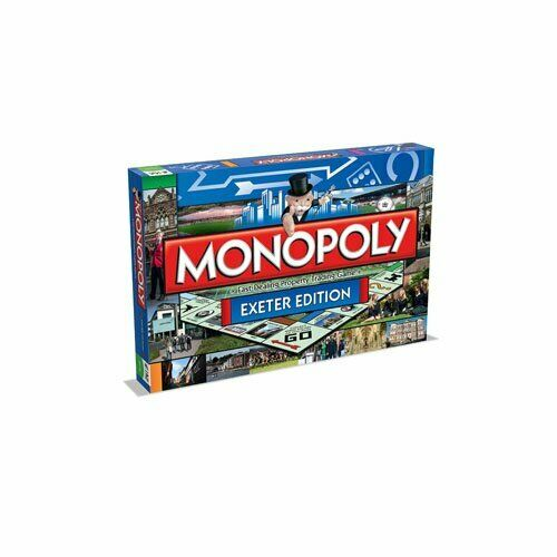 Monopoly - - - Exeter Board Game - 024815 b6c117