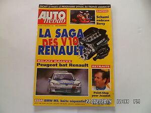 Adaptable Auto Hebdo N°1063 4 Decembre 1996 La Saga Des V10 Renault F39