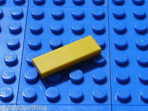 Lego 63864 1x3 Tile Yellow X 4 **Brand New Lego**