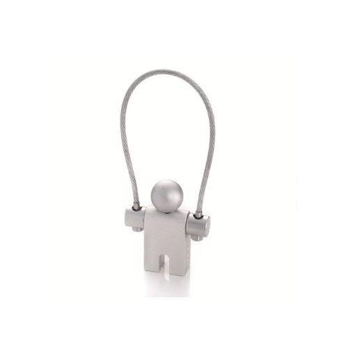 Troika Keyring JUMPER Key Chain choice of Aluminum Matt/Black Matt/Red Shiny