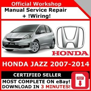 Factory workshop service repair manual honda jazz 2007 2014 wiring image is loading factory workshop service repair manual honda jazz 2007 asfbconference2016 Image collections