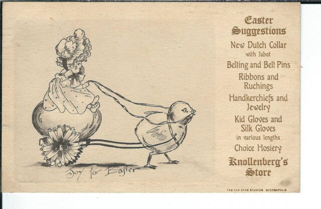 AY-180 - Knollenberg's Store, 1901-1907 Undivided Back, Advertising Postcard