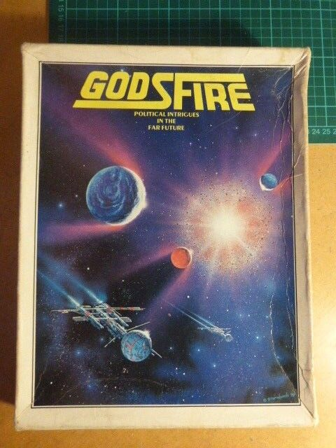 Godsfire COMPLETE by Metagaming Sci-fi Board Wargame