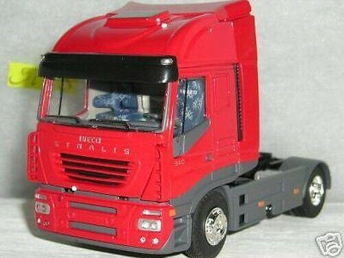 Iveco Stralis Rot Traktor nur Eligor Skala 1 43 Ref. 112656